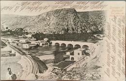 CM - Lebanon Beirut Austrian Levant Office, Very Beautiful Postcard Dog River, Sent From Beirut 1903 To Switzerland - Lebanon