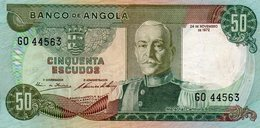 EX/COLONIA - Angola Portuguesa 50 Escudos 1972 Marchal Carmona G0 44563 - Angola