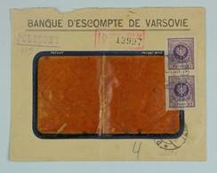 Pologne, Poland - 1924 Registered Cover Warszawa --> Lyon, France, Fr. 60 Gr - 1919-1939 Republic