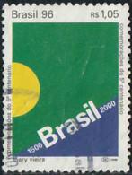 Brésil 1996 Yv. N°2271 - 500 Ans Du Brésil - Oblitéré - Brazilië