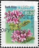 SOUTH AFRICA 2000 Flora And Fauna - 1r30 - Tree Pelargonium FU - África Del Sur (1961-...)