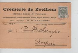 PR7660/ CP 53 S/CP Crêmerie De Zeelhem (Zelem) C.Très Faible > Ampsin - 1893-1907 Coat Of Arms