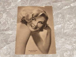 GINGER ROGERS, Universal, Cartolina, No Circolata Del 1940, 50 - Acteurs