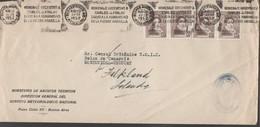 3452    Carta   Buenos Aires, Argentina, 1952, Medicina, Fiebre Amarilla, . - Argentina