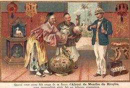 CHROMO ALCOOL DE MENTHE DE RICQLES QUAND VOUS AUREZ FAIT USAGE DE CE FLACON D'ALCOOL DE MENTHE DE RICQLES... - Other