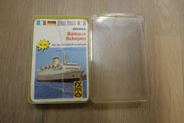 Speelkaarten - Kwartet, Schepen, Hemma Nr 123, SCHMID, Vintage - Cartes à Jouer Classiques