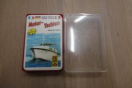 Speelkaarten - Kwartet, Motor - Yachten, Nr. 52022 ,FX Schmid, *** - - Kartenspiele (traditionell)