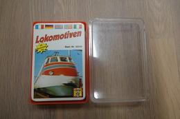 Speelkaarten - Kwartet, Lokomotiven, Nr. 52222 ,FX Schmid, *** - - Kartenspiele (traditionell)