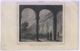 BELLO GRABADO AL ACERO 1844 - Estampas & Grabados