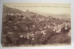 MONTAIGUT-LE-BLANC   - Vue Générale - Montaigut