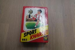 Speelkaarten - Kwartet, Sport Kwartet, Papita(king) 883, *** - Vintage - Cartes à Jouer Classiques