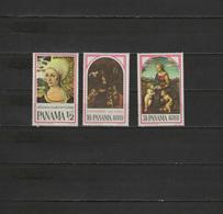 Panama 1966 Paintings Leonardo Da Vinci, Dürer, Raphael Set Of 3 MNH - Art