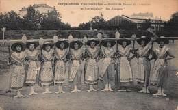 """CPA TOULON - Terpsichore Toulonnaise - Société De Danses De Caractère Et Provençales """" Les Fileuses """" - Toulon"""