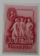 La Hongrie Aux Syndicats Hongrois LUX 1949 MNH - Ungarn