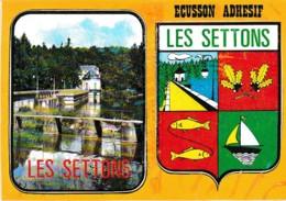 ECUSSON ADHESIF LES SETTONS   REF 61978 - Montsauche Les Settons