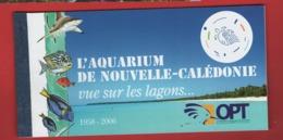 AB5 Nouvelle-Calédonie Carnet Aquarium C1019 - Booklets