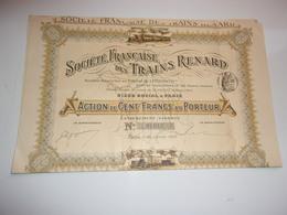 TRAINS RENARD (1907) - Azioni & Titoli