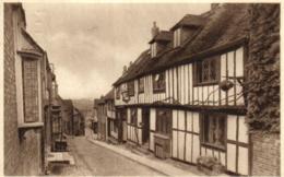 Royaume-Uni - Angleterre - Sussex - Rye - Mermais Street - D 1192 - Rye