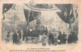 CPA Carnaval De Toulon ( 1903 ) Arrivée De S.M. Le Roi D' Yvetot, Carnaval XVII, Sur La Place De La Liberté - Toulon