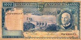 EX/COLONIA - Angola Portuguesa 1000 Escudos 1970 Americo Tomas 22pP239577 - Angola