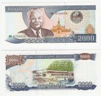 Laos  P. 33b  2000 Kip 2003 NO 6759228 UNC - Laos