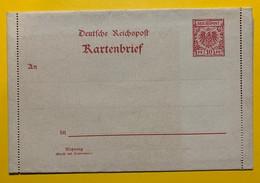 9490 - Entier Postal Kartenbrief 10 Pf Rouge Neuf - Deutschland