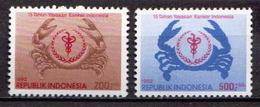 Indonesia MNH Pair - Disease