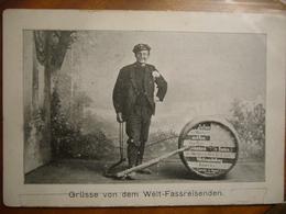 """""""pousseur De Tonneau Autour Du Monde""""  (Allemagne) - Postcards"""