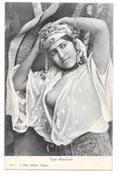 Type Marocain Femme Sein Visible  Tanger Maroc Non Circulée - Tanger