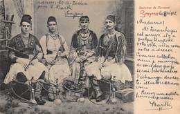 CPA Costumes De Carnaval - SMYRNE - Turquie
