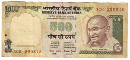 India 500 Rupees Last Issues - India