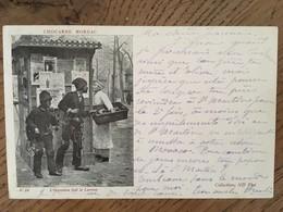 CPA, Illustrateur, CHOCARNE MOREAU, L'Occasion Fait Le Larron, éd ND Phot.écrite En 1901, Timbre - Illustrators & Photographers