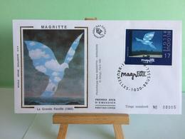 Magritte (la Grande Famille - Bruxelles - 13.4.1998 FDC 1er Jour Coté ..€ - FDC