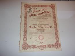 CHEMINS DE FER DEPARTEMENTAUX Du Rhone & Saone & Loire (monsols,cluny,la Clayette) - Unclassified