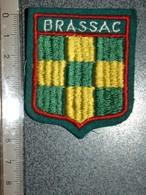 ECUSSON  TOURISTIQUE TISSUS  BRASSAC - Ecussons Tissu
