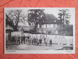 Dahlenheim .  Presbytere - Francia