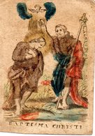 Image Pieuse 18e S .Baptisma Christi - Images Religieuses