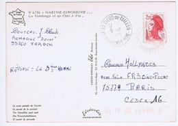 CHARENTE-MARITIME - Cachet Manuel ST CIERS-DU-TAILLON Du 9 -10  1986 - Cachets Manuels