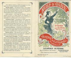 Tarif/carte De Représentant Huile D'olive Huilerie Du Littoral Marseille - France