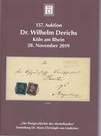 Derichs Postgeschichte Des Memellandes Sammlung Dr. H.C. Von Lindeiner  2019 - Cataloghi Di Case D'aste