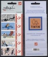 """Belgium**TINTIN """"in Danger""""-5 Duostamps-Cartoons-2007-Hergé-Polar Bear-MNH-BD-BandeDessinée-Kuifje-Tim&Struppi - Stamps"""