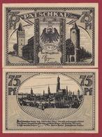 Allemagne 1 Notgeld 75 Pfenning Stadt Patschkau( TRES-RARE -POLOGNE -PACZKOWO-OCCUPATION ALLEMANDE) Dans L 'état N °5247 - Polonia