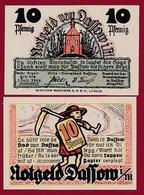 Allemagne 1 Notgeld 10 Pfenning Stadt Dassow(SERIE COMPLETE-10-25-50) Dans L 'état N °5250 - [ 3] 1918-1933 : Repubblica  Di Weimar
