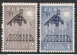 1025/1026 Europa ** - Belgium