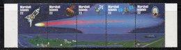XP4383 - MARSHALL 1985 , Serie Yvert N. 100/104  *** (2380A)  Halley - Marshalleilanden