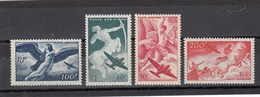 France - 1946-47 - N°YT PA 16**à 19** - Série Mythologique - Posta Aerea