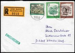 Austria Gmund 1985 / Landscapes, Wien Kahlenbergerdorf 1975, Salzburg Weiszsee 1982, Abbeys And Monasteries 1984 - 1981-90 Cartas