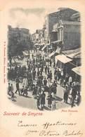 CPA SOUVENIR DE SMYRNE - Place Fassoula - Turquie