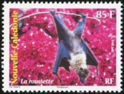 NEW CALEDONIA 2013 Flying Fox Bats Bat Animals Fauna MNH - Bats