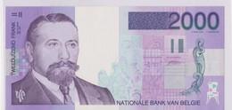Belgique 2000 Francs 1994-2001 Art Flora UNC. - 2000 Francs